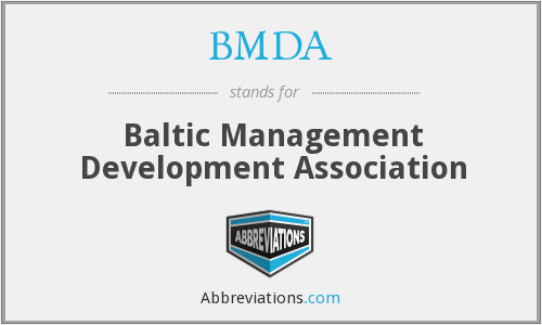 What does BMDA stand for?