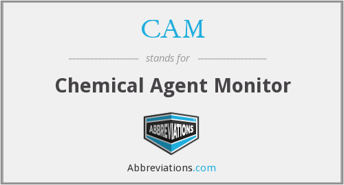 CAM - Chemical Agent Monitor