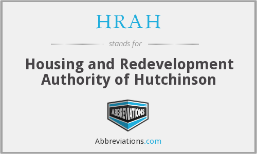 HRAH - Housing and Redevelopment Authority of Hutchinson