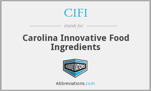 What does CIFI stand for?