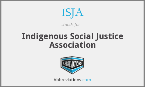 What does ISJA stand for?