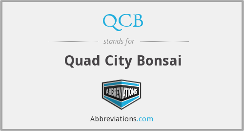 QCB - Quad City Bonsai