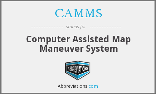 CAMMS - Computer Assisted Map Maneuver System