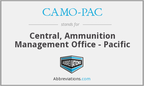 What does CAMO-PAC stand for?