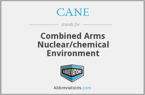 CANE - Combined Arms Nuclear/chemical Environment