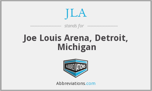 JLA - Joe Louis Arena, Detroit, Michigan