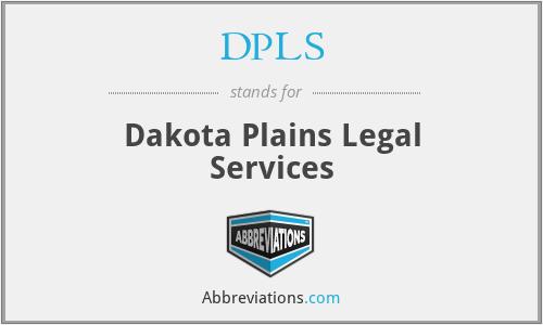 DPLS - Dakota Plains Legal Services