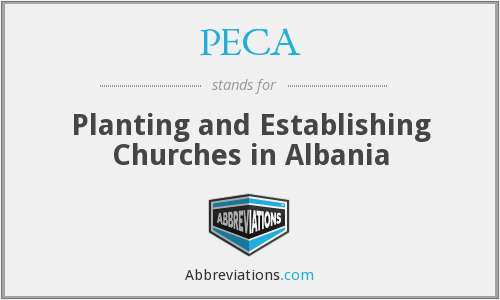 PECA - Planting and Establishing Churches in Albania