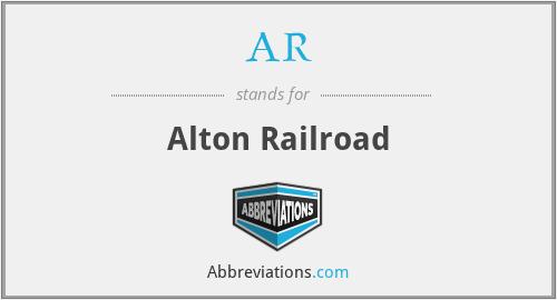 AR - Alton Railroad