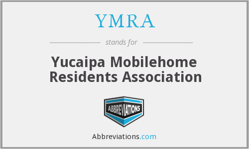 What does YMRA stand for?