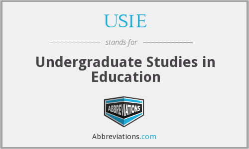 What does USIE stand for?