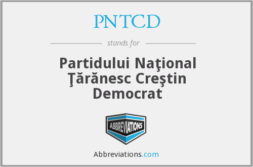 What does PNTCD stand for?