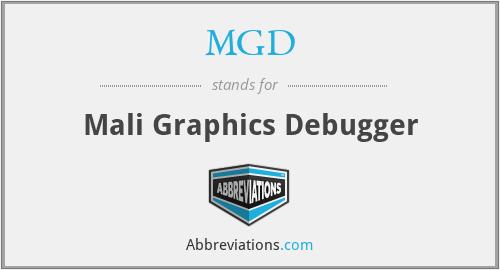 MGD - Mali Graphics Debugger