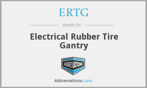 What does ERTG stand for?