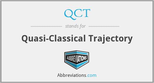 QCT - Quasi-Classical Trajectory