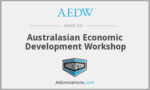 What does AEDW stand for?