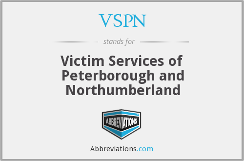 VSPN - Victim Services of Peterborough and Northumberland