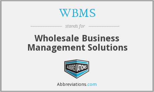 What does WBMS stand for?