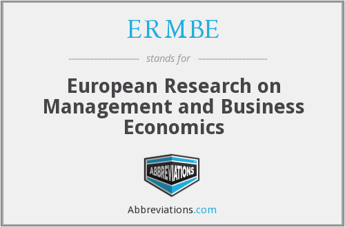 What does ERMBE stand for?