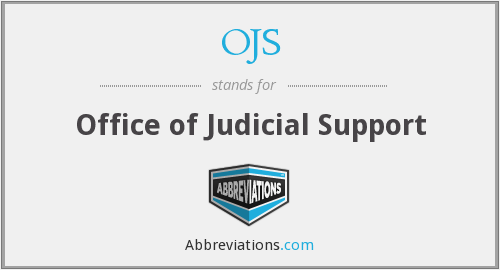 What does OJS stand for?