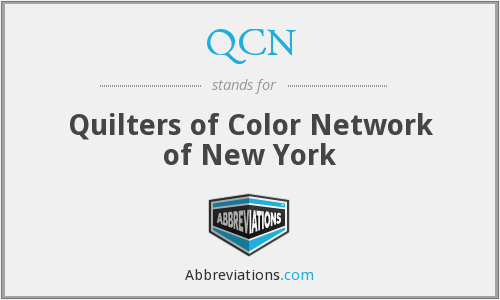 QCN - Quilters of Color Network of New York