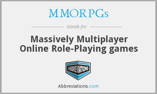 What does MMORPGS stand for?