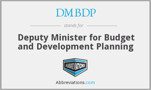 What does DMBDP stand for?