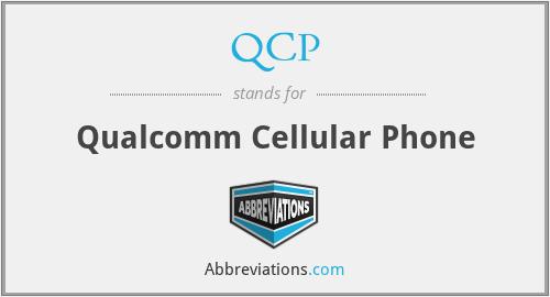 QCP - Qualcomm Cellular Phone