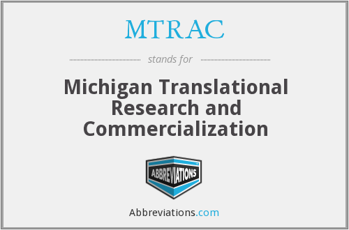 What does MTRAC stand for?