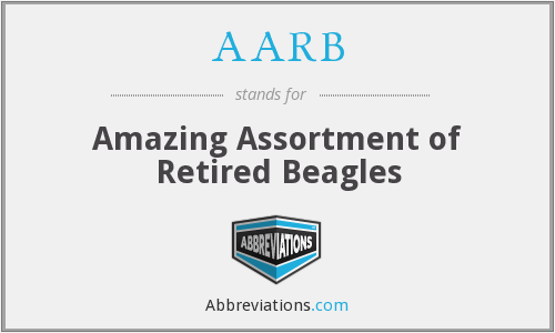 AARB - Amazing Assortment of Retired Beagles