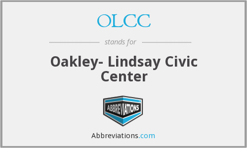 OLCC - Oakley- Lindsay Civic Center
