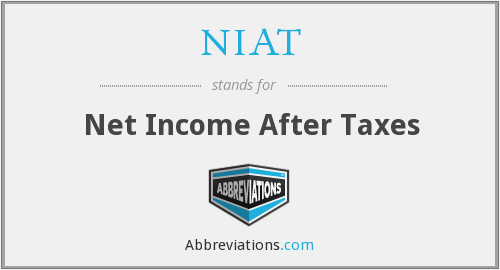 What does NIAT stand for?