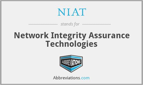 NIAT - Network Integrity Assurance Technologies