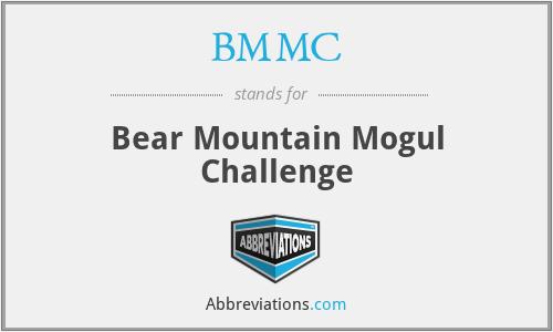 BMMC - Bear Mountain Mogul Challenge
