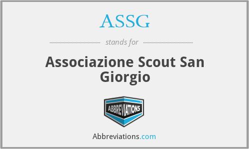 ASSG - Associazione Scout San Giorgio