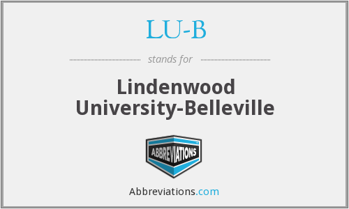 What does LU-B stand for?