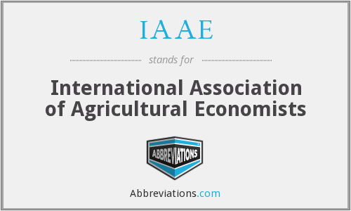 What does IAAE stand for?