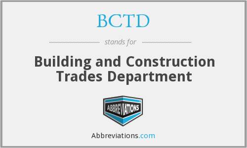 What does BCTD stand for?