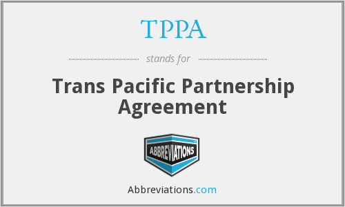 What does TPPA stand for?