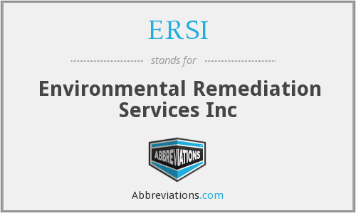 What does ERSI stand for?