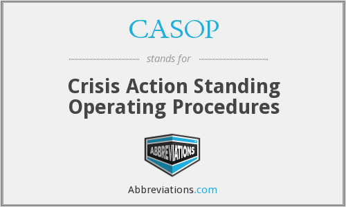 What does CASOP stand for?