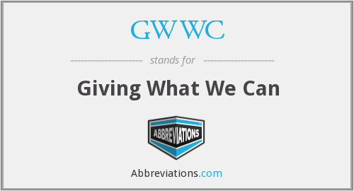 GWWC - Giving What We Can