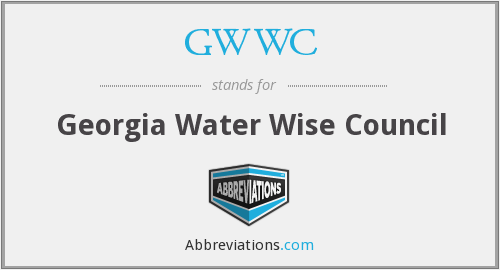 GWWC - Georgia Water Wise Council