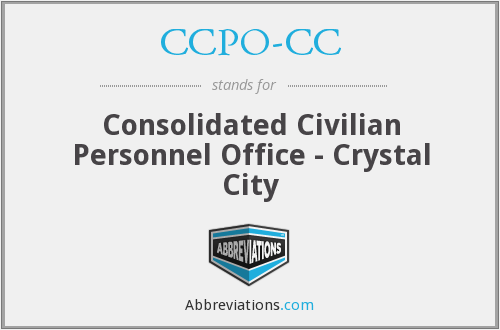 What does CCPO-CC stand for?
