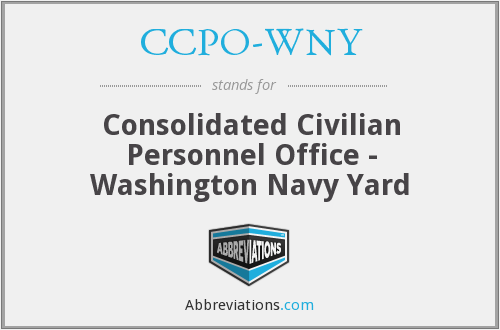 What does CCPO-WNY stand for?