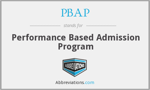 What does PBAP stand for?