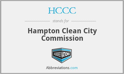 HCCC - Hampton Clean City Commission