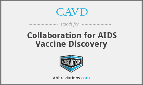 CAVD - Collaboration for AIDS Vaccine Discovery