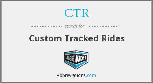 CTR - Custom Tracked Rides