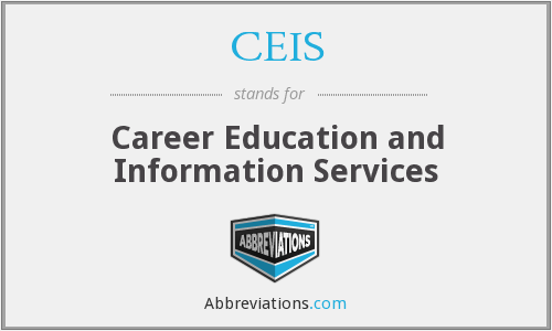What does CEIS stand for?